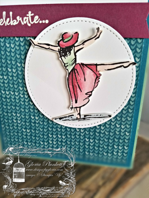 Beautiful you  occasions sale-a-bration blooms & bliss designer series pape