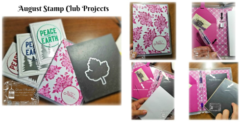 Magnetic Notepad Holder Collage
