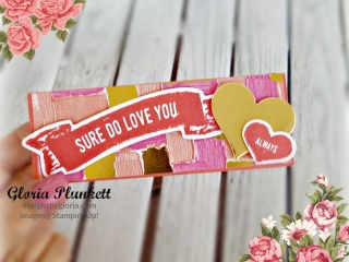 treat holder valentines day how to diy handmade homemade stampin up crafts