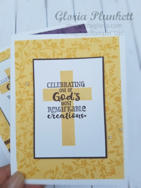 stampin up hold on to hope cardmaking handmade homemade crafts diy how to encouragement cross