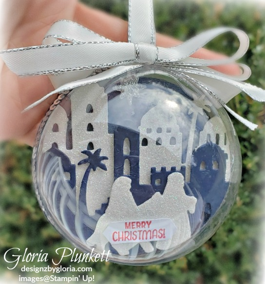 Night In Bethlehem Ornament