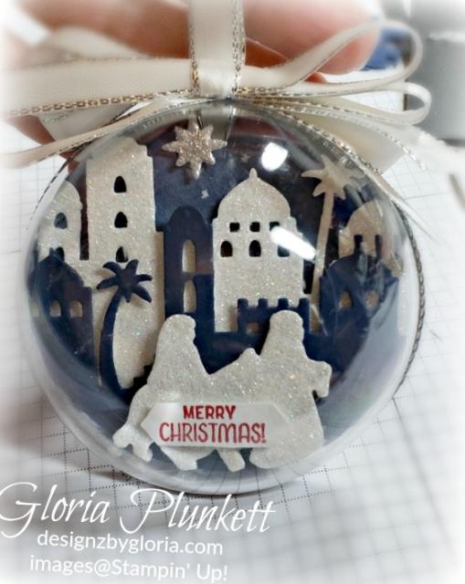 Night In Bethlehem Ornament