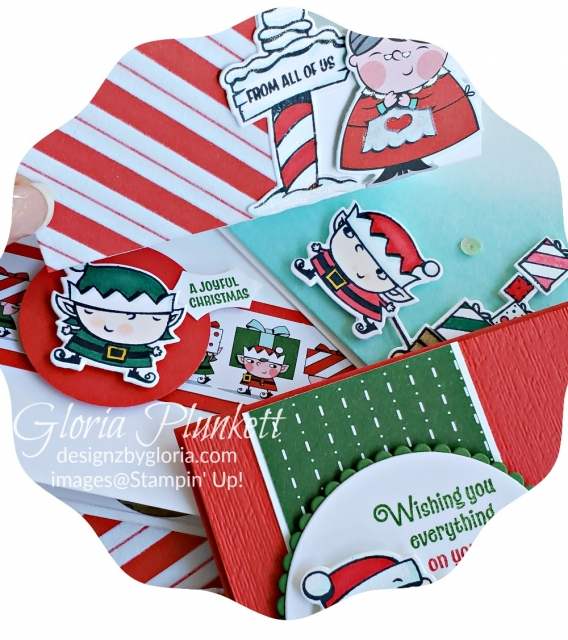 Signs of santa   stampin' up! demonstrator  how to  diy  handmade  homemade  rubber stamping  crafts cardmaking