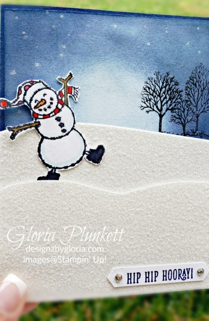 Spirited snowmen team card reward luv2stampinga team recognition stampin' up! demonstrator  how to  diy  handmade  homemade  rubber stamping  crafts cardmaking