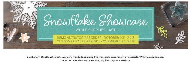 snowflake showcase Winter woods stamp set  stampin' up! demonstrator  how to  diy  handmade  homemade  rubber stamping  crafts cardmaking