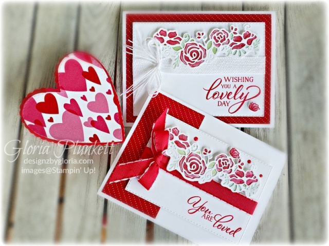 Forever lovely Set all my love designer series paper stampin' up! demonstrator  how to  diy  handmade  homemade  rubber stamping  crafts cardmaking