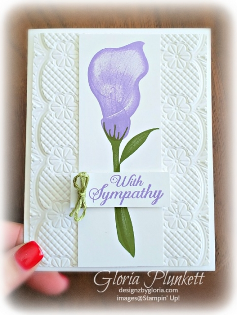 Lasting Lily Set all my love designer series paper stampin' up! demonstrator  how to  diy  handmade  homemade  rubber stamping  crafts cardmaking