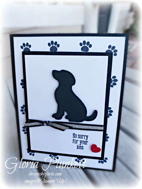 Happy Tails stamp Set all my love designer series paper stampin' up! demonstrator  how to  diy  handmade  homemade  rubber stamping  crafts cardmaking