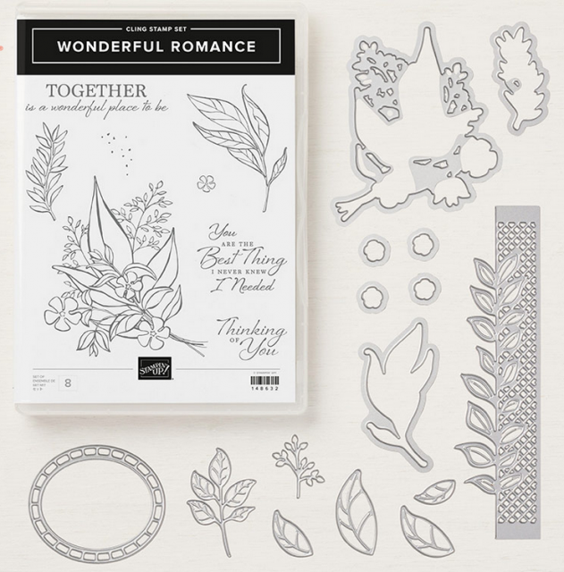 Wonderful romance bundle and stamp Set all my love designer series paper stampin' up! demonstrator  how to  diy  handmade  homemade  rubber stamping  crafts cardmaking