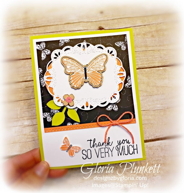 Butterfly gala stamp set dies all my love designer series paper stampin' up! demonstrator how to diy  handmade  homemade  rubber stamping  crafts cardmaking