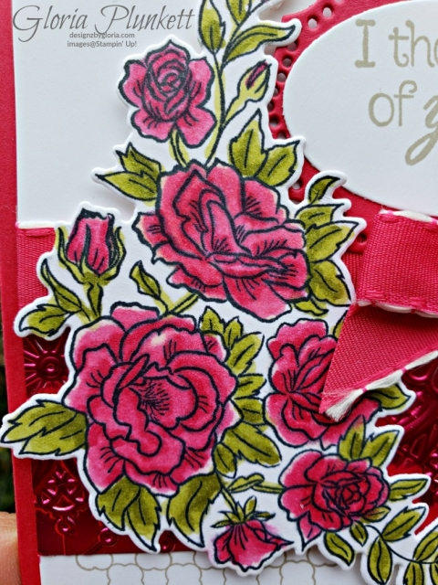 Climbing roses rose trellis thinlits dies all my love designer series paper stampin' up! demonstrator how to diy handmade homemade rubber stamping crafts cardmaking