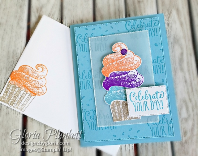 hello cupcake dies all my love designer series paper stampin' up! demonstrator  how to  diy  handmade  homemade  rubber stamping  crafts cardmaking
