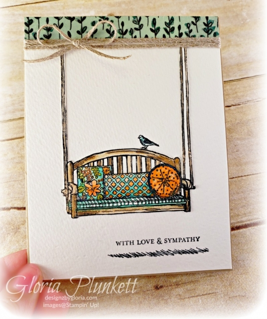 Sitting here stamp set watercolor paper shimmery white cardstock cake builder punch Lovely Flowers Edgelits Dies Layering ovals framelits dies gingham Gala designer series paper stampin' up! demonstrator how to diy handmade  homemade  rubber stamping  crafts cardmaking