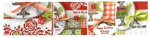 Piece of Cake stamp set dies all my love designer series paper stampin' up! demonstrator how to diy handmade homemade rubber stamping crafts cardmaking