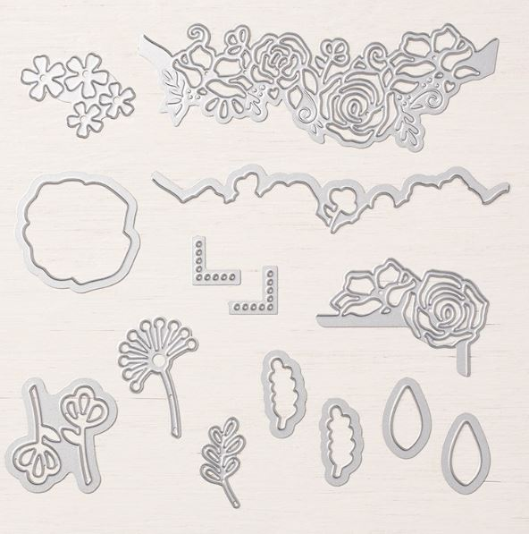 Piece of cake stamp set cake builder punch Lovely Flowers Edgelits Dies Layering ovals framelits dies gingham Gala designer series paper stampin' up! demonstrator how to diy handmade  homemade  rubber stamping  crafts cardmaking