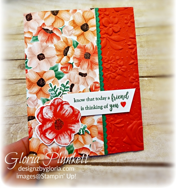 Painted seasons set dies all my love designer series paper stampin' up! demonstrator how to diy  handmade  homemade  rubber stamping  crafts cardmaking