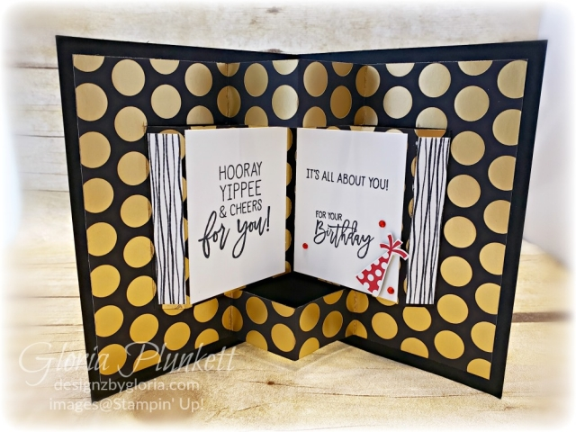 Birthday cheer pop up book all my love designer series paper stampin' up! demonstrator how to diy  handmade  homemade  rubber stamping  crafts