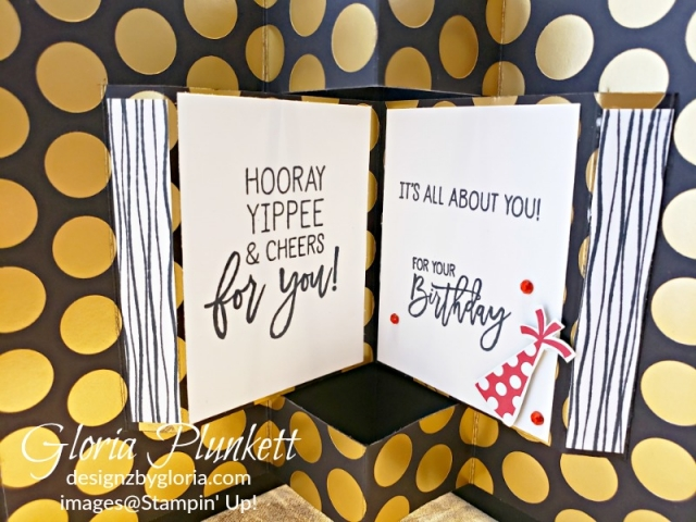 Birthday cheer pop up book all my love designer series paper stampin' up! demonstrator how to diy  handmade  homemade  rubber stamping  crafts cardmaking