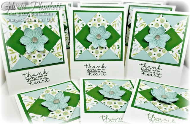 Bloom & Grow stamp set, perennial punch, garden green cardstock garden green ink, whisper white ink, pool party cardstock, pool party ink,  garden lane designer series paper stampin' trimmer whisper white Cardstock  dimensionals multipurpose liquid glue take your pick, SNAIL adhesive stampin' up! demonstrator how to diy handmade  homemade  rubber stamping  crafts cardmaking