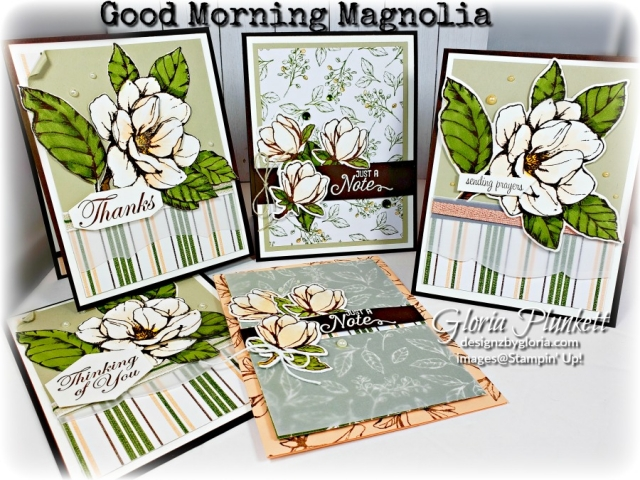 Itty bitty greetings Good morning magnolia suite, Magnolia lane designer series paper early espresso classic ink, petal pink color blends, mossy meadow color blends, early espresso cardstock, vellum cardstock paper pearl gems stampin' trimmer petal pink cardstock whisper white Cardstock poppy parade cardstock multipurpose liquid glue SNAIL adhesive stampin' up! demonstrator how to diy handmade homemade rubber stamping crafts cardmaking