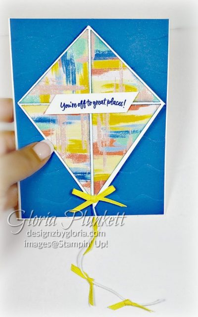 "Follow your Art designer series paper, pacific point ink, above the clouds stamp set, pacific point cardstock, whisper white cardstock, thick whisper white cardstock, coastal cabana cardstock, pineapple pinch 1/8"" grosgrain ribbon, grapefruit grove 1/8"" grosgrain ribbon, stampin' trimmer whisper white Cardstock  dimensionals multipurpose liquid glue take your pick, SNAIL adhesive stampin' up! demonstrator how to diy handmade  homemade  rubber stamping  crafts cardmaking"