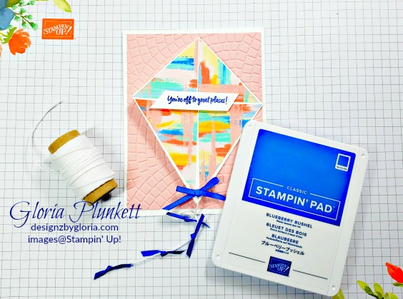 Follow your art designer series paper, pacific point classic ink, above the clouds stamp set, thick whisper white cardstock, whisper white cardstock, calypso coral cardstock, granny apple green cardstock, Bermuda bay cardstock, stampin' trimmer whisper white Cardstock  dimensionals multipurpose liquid glue take your pick, SNAIL adhesive stampin' up! demonstrator how to diy handmade  homemade  rubber stamping  crafts cardmaking