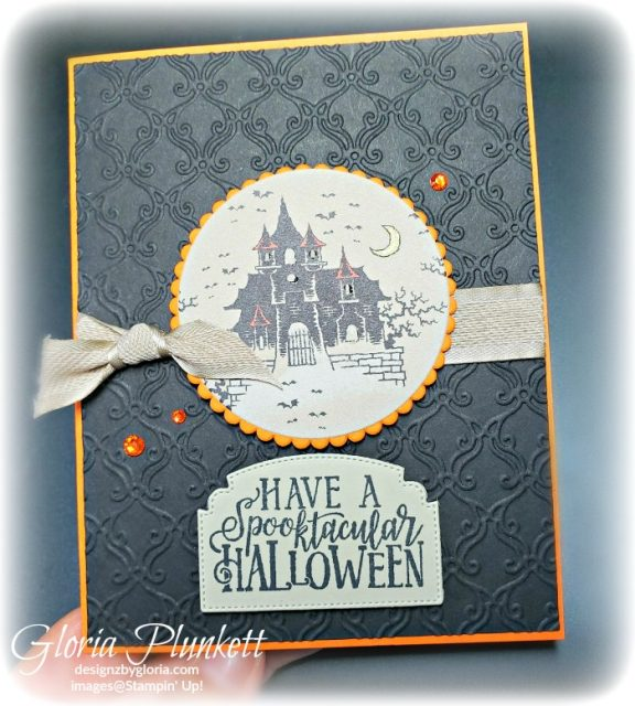 Quick and Easy Halloween Card