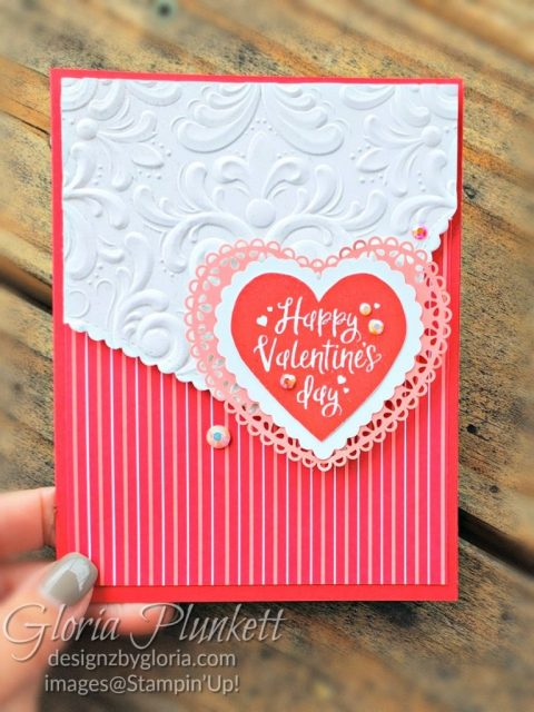 "Heartfelt stamp set, real red cardstock, flirty flaming cardstock, silicone craft mat, white embossing powder, versamark ink pad, heat tool, watercolor paper, crumb cake cardstock, tear n tape, 1"" circle punch, simply scored, paper trimmer, Paper Snips, Take Your Pick Tool, Stampin' Sponges, White Chalk Marker, Stitched Rectangle Dies, sip & celebrate dies, Grid Paper, stampin sponge, perfectly plaid Stamp set, truck ride dies, shimmery crystal effects, braided linen ribbon, to every season stamp set, every season punch, gold foil paper, shaded spruce cardstock, cherry cobbler cardstock, wrapped in plaid 6 x 6 designer series paper, thick whisper cardstock, silicone craft mat, grid paper, polka dot tulle ribbon, come to gather designer series paper, splitcoaststampers, come painters, blender pens, clear wink of stella, stampin' trimmer, very vanilla cardstock, sponge daubers, dimensionals, paper snips, multipurpose liquid glue take your pick, SNAIL adhesive, stampin' up! Demonstrator, how to, diy handmade, homemade, rubber stamping, greeting card, crafts cardmaking to gathered ribbon combo pack, Tags & More Accessory kit, black stampin dimensionals, detailed trio punch, basic black cardstock, old olive classic ink, memento tuxedo black ink, black stazon ink, thick whisper white cardstock, whisper white cardstock, stamparatus, aqua painters"