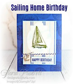 "Sailing home stamp set, come sail away designer series paper, sail away trinkets, smooth dailing dies, rectangle stitched framelits, 5/8"" whisper white flax ribbon, real red rhinestones, silicone craft mat, white embossing powder, versamark ink pad, heat tool, watercolor paper, crumb cake cardstock, tear & tape, 1"" circle punch, simply scored, paper trimmer, Paper Snips, Take Your Pick Tool, Stampin' Sponges, White Chalk Marker, Stitched Rectangle Dies, sip & celebrate dies, Grid Paper, stampin sponge, perfectly plaid Stamp set, truck ride dies, shimmery crystal effects, braided linen ribbon, to every season stamp set, every season punch, gold foil paper, shaded spruce cardstock, cherry cobbler cardstock, wrapped in plaid 6 x 6 designer series paper, thick whisper cardstock, silicone craft mat, grid paper, polka dot tulle ribbon, come to gather designer series paper, splitcoaststampers, come painters, blender pens, clear wink of stella, stampin' trimmer, very vanilla cardstock, sponge daubers, dimensionals, paper snips, multipurpose liquid glue take your pick, SNAIL adhesive, stampin' up! Demonstrator, how to, diy handmade, homemade, rubber stamping, greeting card, crafts cardmaking to gathered ribbon combo pack, Tags & More Accessory kit, black stampin dimensionals, detailed trio punch, basic black cardstock, old olive classic ink, memento tuxedo black ink, black stazon ink, thick whisper white cardstock, whisper white cardstock, stamparatus, aqua painters"