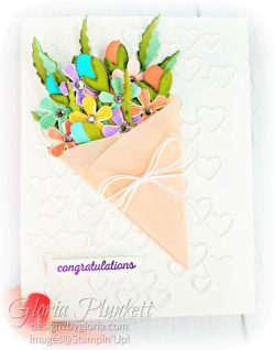 "Thoughtful blooms stamp set, pleased as punch designer series paper, metallic bakers twine & sequins combo pack, small bloom punch, sending flowers dies, rectangle stitched framelits, 5/8"" whisper white flax ribbon, real red rhinestones, silicone craft mat, white embossing powder, versamark ink pad, heat tool, watercolor paper, crumb cake cardstock, tear & tape, 1"" circle punch, simply scored, paper trimmer, Paper Snips, Take Your Pick Tool, Stampin' Sponges, White Chalk Marker, Stitched Rectangle Dies, sip & celebrate dies, Grid Paper, stampin sponge, perfectly plaid Stamp set, truck ride dies, shimmery crystal effects, braided linen ribbon, to every season stamp set, every season punch, gold foil paper, shaded spruce cardstock, cherry cobbler cardstock, wrapped in plaid 6 x 6 designer series paper, thick whisper cardstock, silicone craft mat, grid paper, polka dot tulle ribbon, come to gather designer series paper, splitcoaststampers, come painters, blender pens, clear wink of stella, stampin' trimmer, very vanilla cardstock, sponge daubers, dimensionals, paper snips, multipurpose liquid glue take your pick, SNAIL adhesive, stampin' up! Demonstrator, how to, diy handmade, homemade, rubber stamping, greeting card, crafts cardmaking to gathered ribbon combo pack, Tags & More Accessory kit, black stampin dimensionals, detailed trio punch, basic black cardstock, old olive classic ink, memento tuxedo black ink, black stazon ink, thick whisper white cardstock, whisper white cardstock, stamparatus, aqua painters"
