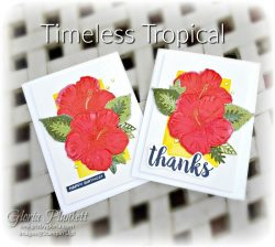 "Timeless tropical stamp set, tropical oasis designer series paper, in the tropics dies, tropical oasis memories & more card pack, early expresso cardstock, basic black cardstock, gorgeous grape cardstock, rococo rose light and dark stampin' blends, granny apple green dark and light stampin' blends, watercolor pencils, blender pen, petal pink cardstock, stitched so sweetly dies, rectangle stitched framelits, 5/8"" whisper white flax ribbon, real red rhinestones, silicone craft mat, white embossing powder, versamark ink pad, heat tool, watercolor paper, crumb cake cardstock, tear & tape, 1"" circle punch, simply scored, paper trimmer, Paper Snips, Take Your Pick Tool, Stampin' Sponges, White Chalk Marker, Stitched Rectangle Dies, sip & celebrate dies, Grid Paper, stampin sponge, perfectly plaid Stamp set, truck ride dies, shimmery crystal effects, braided linen ribbon, to every season stamp set, every season punch, gold foil paper, shaded spruce cardstock, cherry cobbler cardstock, wrapped in plaid 6 x 6 designer series paper, thick whisper cardstock, silicone craft mat, grid paper, polka dot tulle ribbon, come to gather designer series paper, splitcoaststampers, come painters, blender pens, clear wink of stella, stampin' trimmer, very vanilla cardstock, sponge daubers, dimensionals, paper snips, multipurpose liquid glue take your pick, SNAIL adhesive, stampin' up! Demonstrator, how to, diy handmade, homemade, rubber stamping, greeting card, crafts cardmaking to gathered ribbon combo pack, Tags & More Accessory kit, black stampin dimensionals, detailed trio punch, basic black cardstock, old olive classic ink, memento tuxedo black ink, black stazon ink, thick whisper white cardstock, whisper white cardstock, stamparatus, aqua painters, simply shammy shammie"