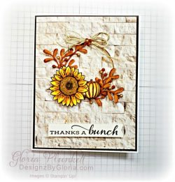 """Celebrate sunflowers stamp set, in good taste designer series forever flourishing dies, Christmas layers dies, stitched rectangle dies, ornate thanks stamp set, hammered metal 3d embossing folder, poppy moments dies, celebration tidings stamp set, layering square dies, Playful alphabet dies, gather together stamp set, pet dies, whale builder punch, playful pets designer series paper, whale of a time dsp, 3/8"""" sheer ribbon, whale of a time sequins, Gold hoop embellishments, free as a bird stamp set, magenta madness cardstock, cinnamon cider cardstock, just jade cardstock, magenta madness cardstock, jar punch, ornate garden specialty designer series paper, itty bitty greetings, pear pizzazz cardstock, seaside spray cardstock, pressed petals specialty designer series paper, botanical prints product medley, detailed band dies, ornate layers dies, Ornate style stamp set, ornate garden specialty designer series paper, ornate layers dies, grapefruit grove cardstock, gold glitter enamel dots, coastal weave 3d embossing folder, basket weave embossing folder, a wish for everything stamp set, word wishes dies, ornate layers dies, ornate floral 3d embossing folder, ornate garden ribbon, ornate garden specialty designer series paper, best dressed 6"""" x 6"""" dsp, pear pizzazz classic ink, sponge daubers, peaceful moments stamp set, subtles embossing folder, rectangle stitched dies, saddle brown stazon ink, blushing bride cardstock, from my heart faceted gems, pear pizzazz classic ink, pleased as punch designer series paper, granny apple green cardstock, basic black cardstock, gorgeous grape cardstock, rococo rose light and dark stampin' blends, granny apple green dark and light stampin' blends, watercolor pencils, blender pen, petal pink cardstock, stitched so sweetly dies, rectangle stitched framelits, 5/8"""" whisper white flax ribbon, real red rhinestones, silicone craft mat, white embossing powder, versamark ink pad, heat tool, watercolor paper, crumb cake cardstock, tear & tape, 1"""